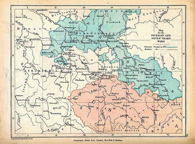 Prussia Invades Silesia – History MomentsSilesia Map Europe